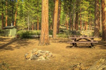LOWER CANYON CREEK CAMPGROUND