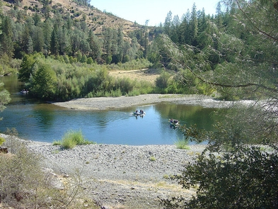 Trinity River near Steiner Flat Campground