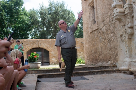 Tours of Mission San JosйCatch a tour at Mission San Josй at 10:00, 11:00, 1:00 and 3:00 daily.