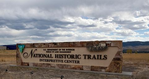 National Historic Trails Interpretive CenterSign for the National Historic Trails Interpretive Center.