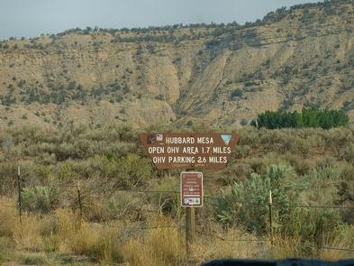 Hubbard Mesa Open OHV Area