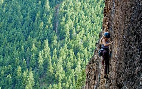 Thompson Creek Climbing