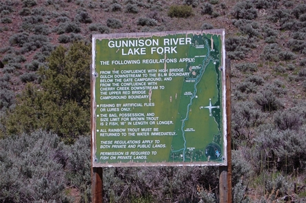 Gunnison River Lake Fork