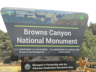 Browns Canyon National Monument