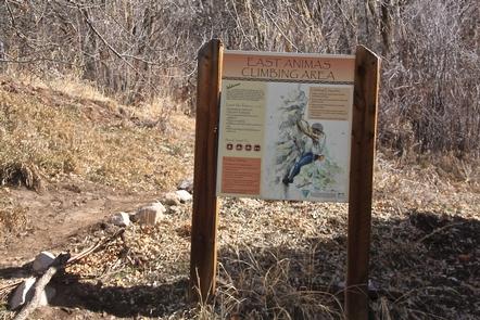 East Animas Climbing Area