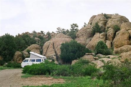 Penitente Canyon Camping