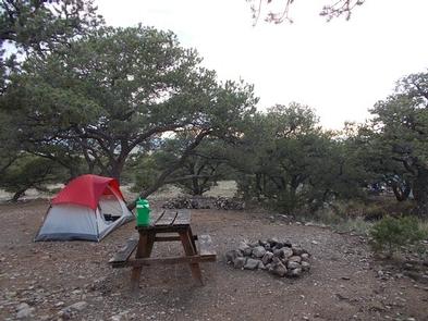 Zapata Falls Campground