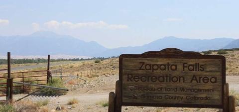 Zapata Falls Recreation Area