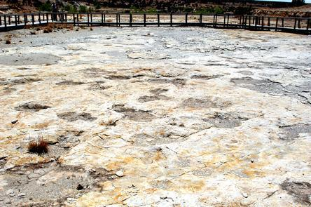 Clayton Lake State Park Dinosaur Trackway