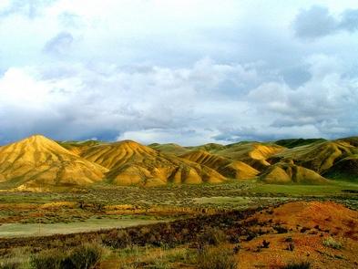 Tumey Hills Landscape
