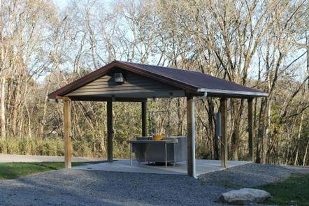 Defeated Creek Park Fish Cleaning StationFishing Cleaning Station located in Day Use area