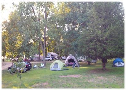 Blanding Landing Camping 1Site #25-27