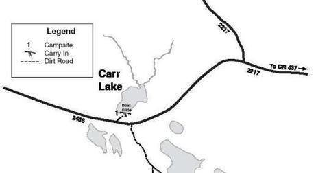 CARR LAKE CAMPSITE