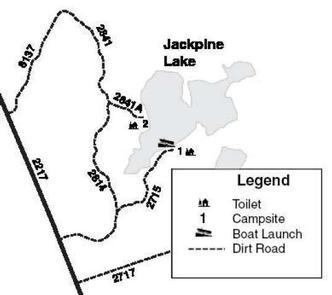 JACKPINE LAKE CAMPSITE