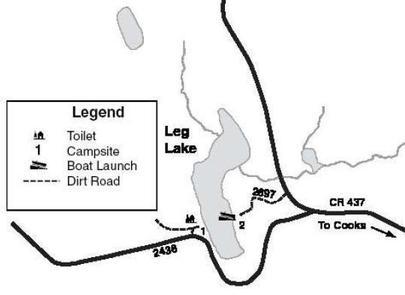 LEG LAKE CAMPSITE