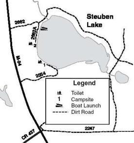 STEUBEN LAKE CAMPSITE
