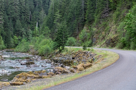 Quartzville Back Country Byway