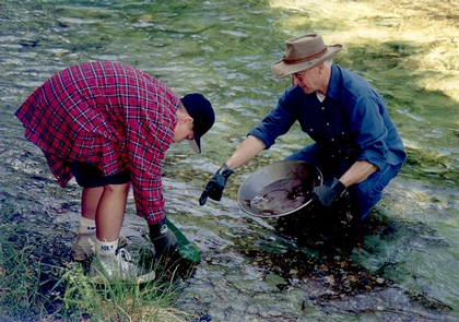 Recreational Mining on the Quartzville Creek Wild and Scenic River