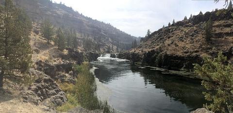 Middle Deschutes Wild and Scenic RiverSteelhead Falls