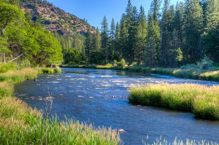 Upper Klamath Wild and Scenic RiverUpper Klamath riffle