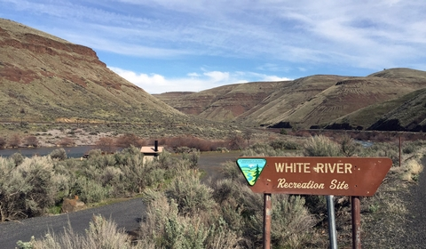 White Wild and Scenic RiverWhite River Campground