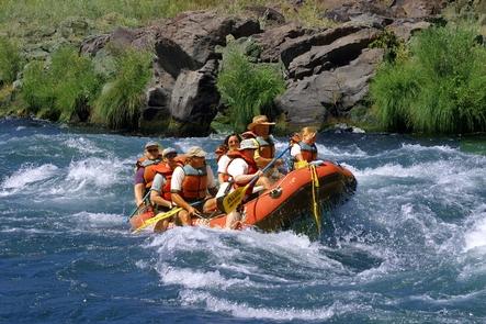 Lower Deschutes Wild and Scenic RiverSplash and giggles on the Lower Deschutes Wild and Scenic River