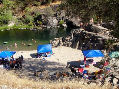 Merced River Recreation Management AreaCable Rock Day Use Beach