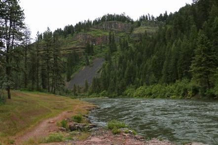 Wallowa Wild and Scenic RiverRiverside on the Wallowa Wild and Scenic River