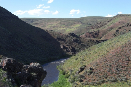Powder Wild and Scenic RiverCanyon view of the Powder River