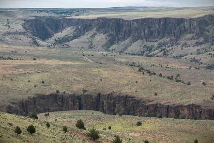 North Fork Owyhee Wild and Scenic RiverIncised canyon of the North Fork Owyhee Wild and Scenic River