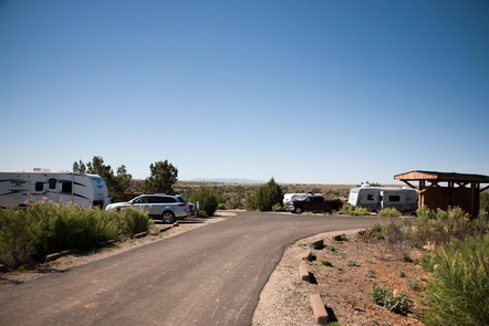 CampgroundHovenweep Campground has 31 sites