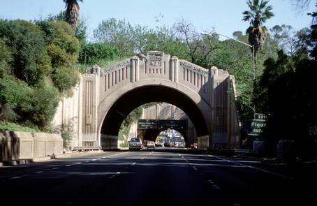 Figueroa Street Tunnels, 1931-1935